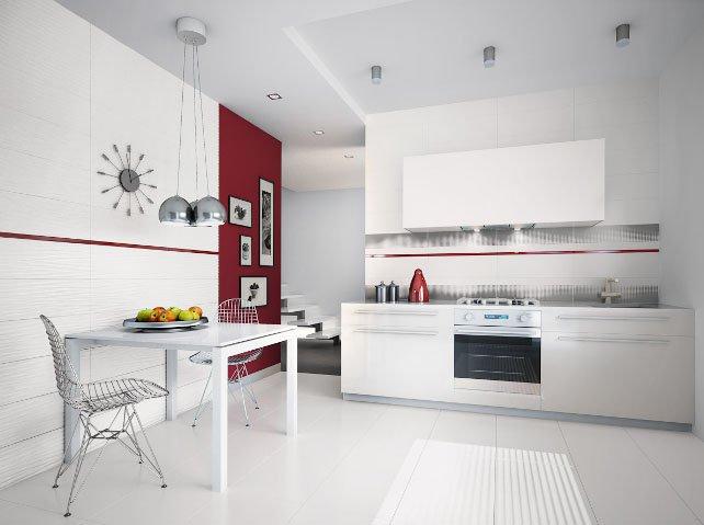 Nowoczesne płytki do kuchni  WnętrzeKuchni p -> Castorama Kuchnia Plytki