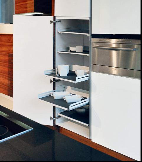 wysuwane p243�ki w kuchni wnętrzekuchnipl