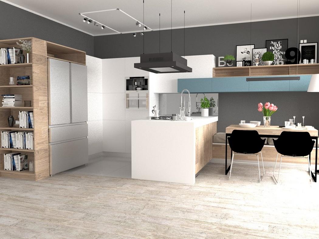 Na co należy zwrócić uwagę projektując kuchnię z dużą lodówką?