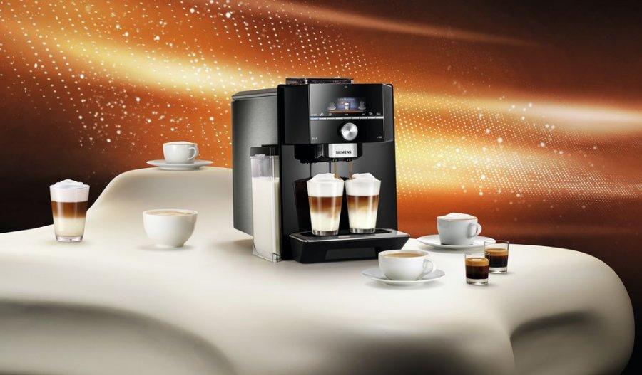 Ekspresy do kawy z serii EQ Siemens